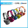 Factory custom All kinds of colors Stereo bluetooth headphone