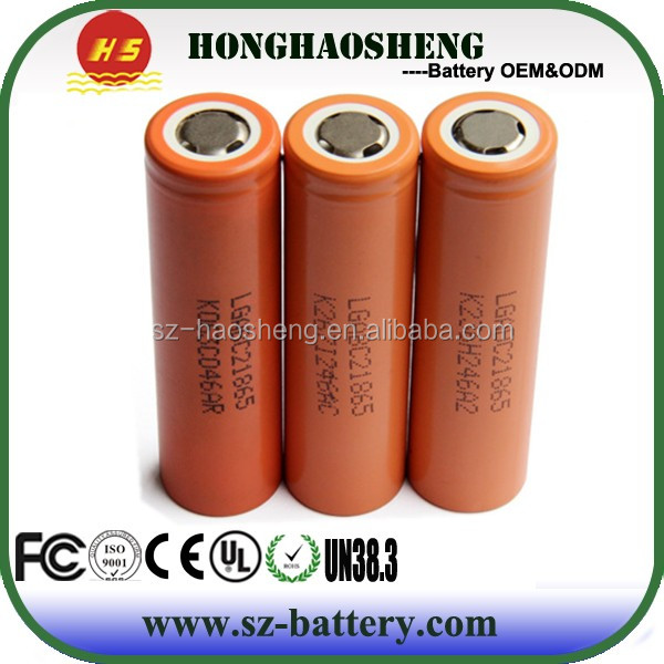 High Quality Original Rechargeable Battery 2800mah LG 18650 C2 for Flashlight