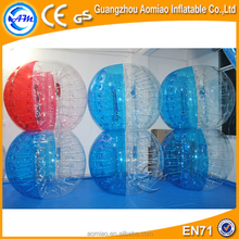 Fascinating inflatable bubble football, bumper ball body ball body bounce grass ball