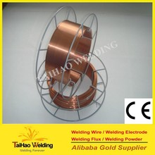 free sample copper coated gas shield ER70S-6 welding wire