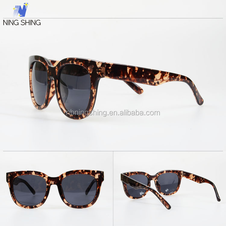 New Products On China Market 2016 Classic Fashion Sun Glasses Trendy Sunglasses