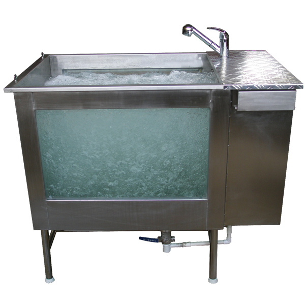 Dog Spa Stainless Steel Tub H-108L/H-108M/H-108S