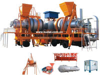 twin drum series 10T/H Oil burner bitumen plant for sale(SLB10)
