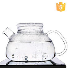 Brand new tea cup with sauser glass teapot with stainless steel infuser glass french press 350ml with high quality