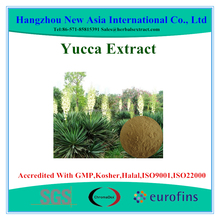 Sarsaponin 30%-60% UV Yucca Extract with Kosher Halal ISO22000 Certificate