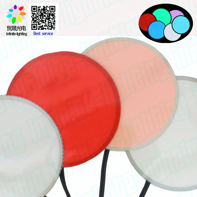 customized different shape and color el paper backlight/ Super bright shinning el paper backlight