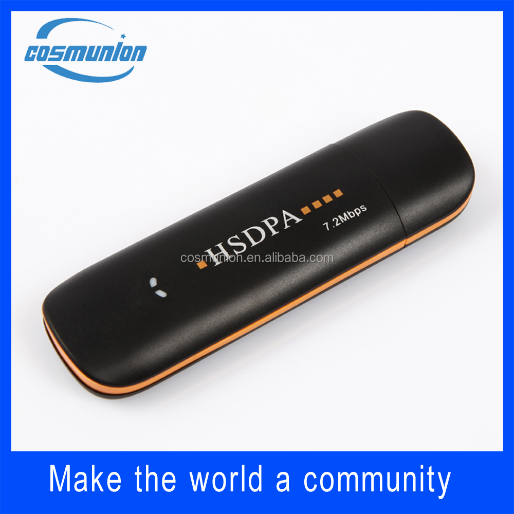 GSM HUSPA HUPA+ 3.5g low price 3g usb dongle modem with sim card slot for internet device