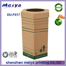 cardboard recycle dump bin, paper dump bins,cardboard retail socks dump bin display for in store