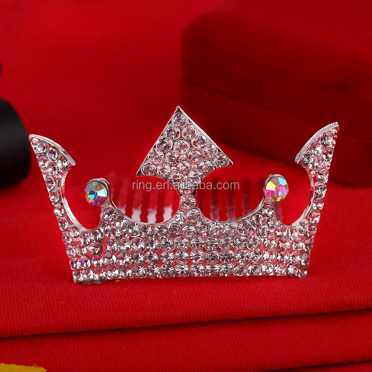 Wholesale little tiara for kids beautiful tiara hair accessory princess crown for girls