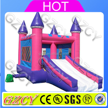 Pink Inflatable Bounce Garden For Girls, Kids Used Jumpers For Sale