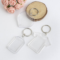 Acrylic key chain,promotional blank acrylic key chains/photo keychain manufacturers in china