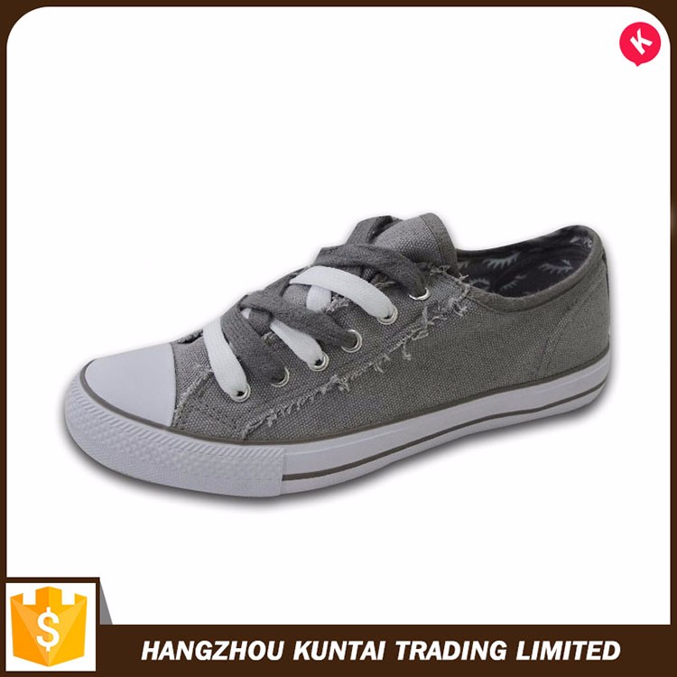 Popular comfortable fashion model style girls casual shoe