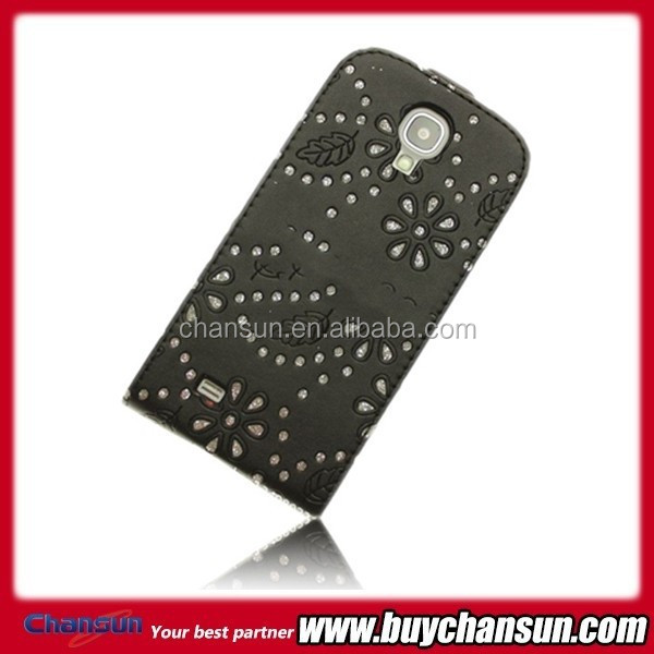 products China pouch leather case for Samsung Galaxy S4 mini