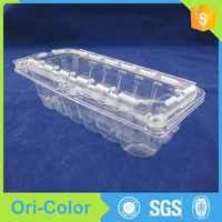 OEM accepted plastic fruit and vegetables packaging box tray
