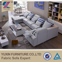 furniture guangzhou sala set solid wood sofa
