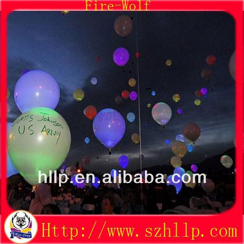 Hot sale led balloon bicycle party supplies led balloon party gift supply manufacturer