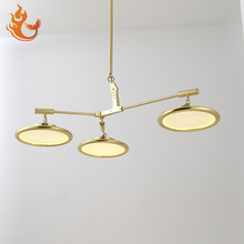 VERMILLION new arrival commercial 3-8 head led pendant lighting+ metal pendant light chandelier