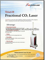 Best Choice!!! Vertical Professional RF Fractional co2 medical laser with CE FDA