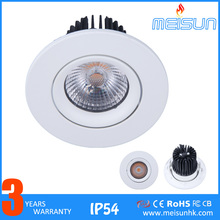 High Cri 92 5W Watt Led Ceiling Spot Light Low Power Small Size Cob Led Spot Light Cut Out 50mm Recessed Led