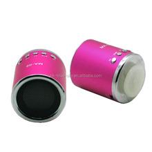 cheap price round shaped mini portable design box speaker sound system