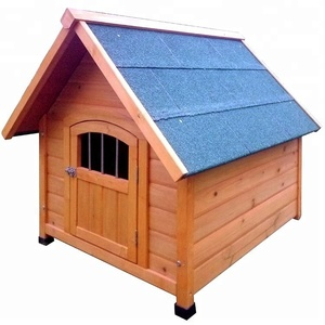 Hot sale handmade wooden dog kennel buildings with lock
