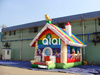 Commercial 2015 china wholesale kids inflatable bouncer garden inflatable bouncer for sale