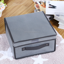 Daily necessities organization products cloth storage bins foldable fabric storage box