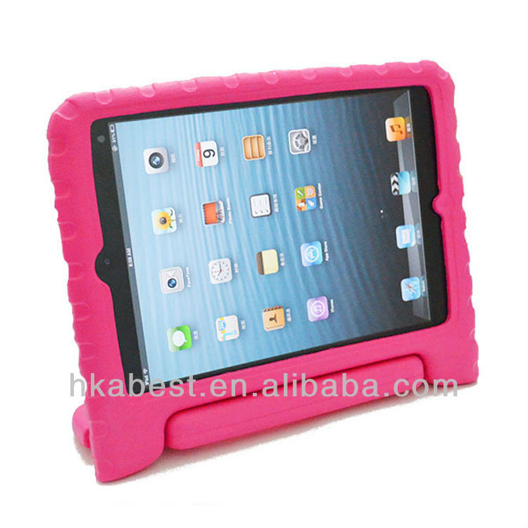 Best gift cases for kids, for ipad mini, EVA Portable hand-held stand tab cover for iPad mini tablet PC