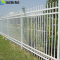 picket garrison Made in china coated steel fence