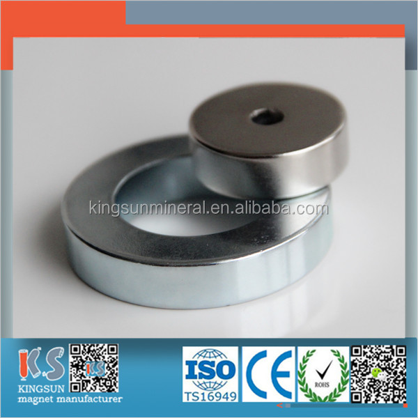 Industrial Application And Permanent Type N38 Multipoles Neodymium Ring Radiation Magnet