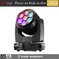 China flower effect 7 led 60w 4inl bee eye moving head light with zoom