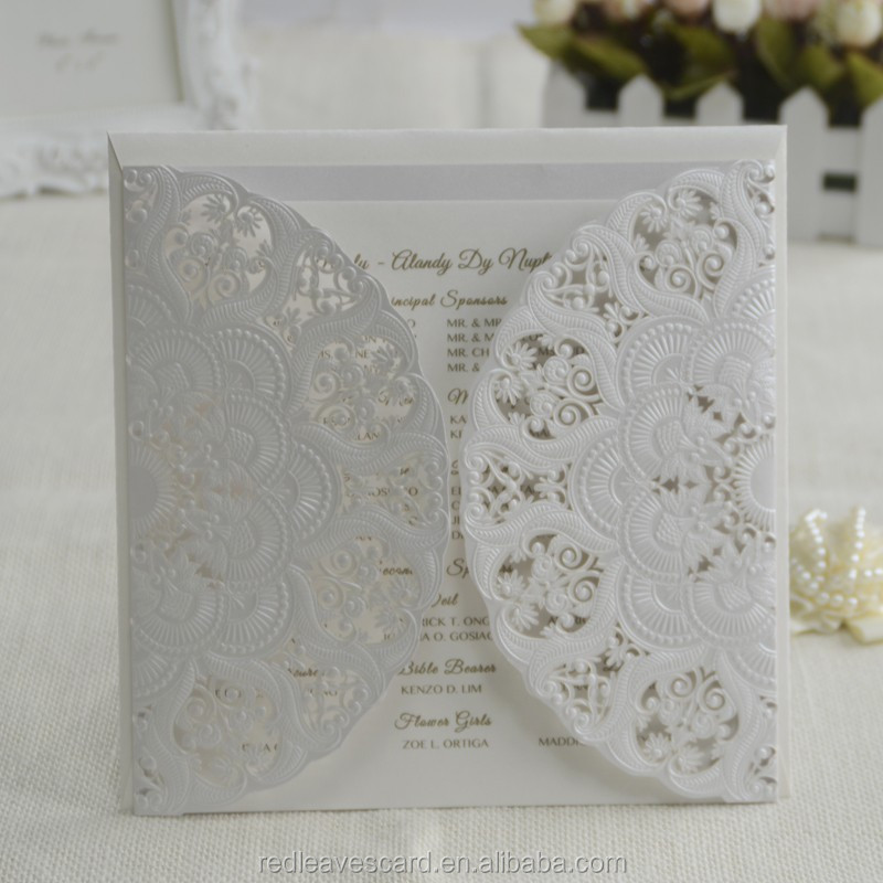 WholesaleTop Quality craft paper 120 gsm handmade top grade wedding card printing