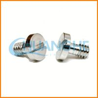 China precision serrated head screw