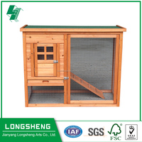 Cheap sale wooden rabbit cage