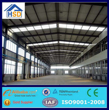 china low cost steel structure prefabricated portable 3d warehouse