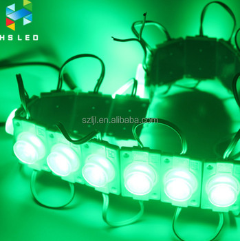 Green 2W SMD 3535/5630/2835/3030 LED Module with Different Beam Angle Lens