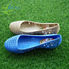 2016 new design ladies pvc sandals plastic jelly shoes for women 36-41