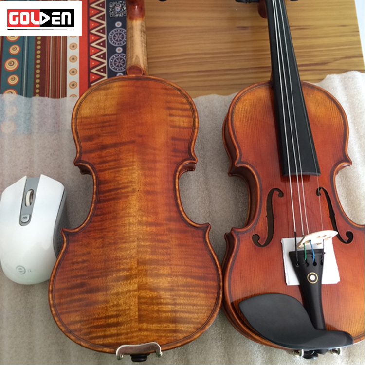 wholesale price best brand of small size handmade violin with bow and case and rosin