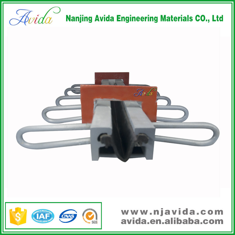 Sell to Egypt Steel Materials Single Gap Rubber Bridge Expansion Joints