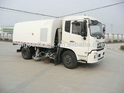 Dongfeng 4x2 road sweeper truck