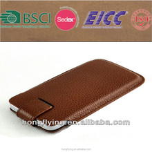 Leather sleeve cover compatible pouch for iPhon 6 Plus