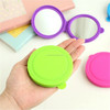 Fashional Design Silicone Makeup Mirror Personalized Makeup Mirror