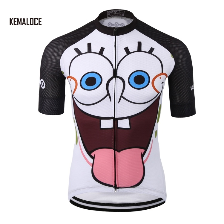 KEMALOCE 2018 sublimation 100% polyester cycling jersey wear team special bike clothing shirts for men