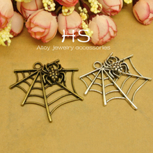 spider web underwear accessory charms for bracelet making components for jewelry
