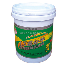 high quality Polymer High Elastic Thick Acrylic Waterproof Coating