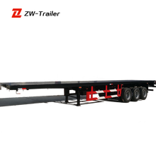 china trailer factory aluminum flatbed trailer / flatbed trailer frame for sale