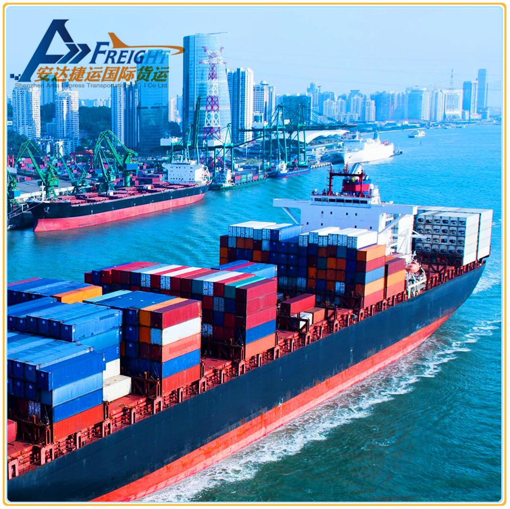 High reliability cargo transport by sea shipping service from China to Hungary
