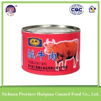 2015 hot selling beef products canned/ready to eat meals canned corned beef food