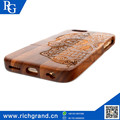 Hot-Selling high quality low price color blocking design wooden mobile phone case For iPhone5 6/6S 6plus
