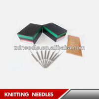 Hand Driven Flat Knitting Needle